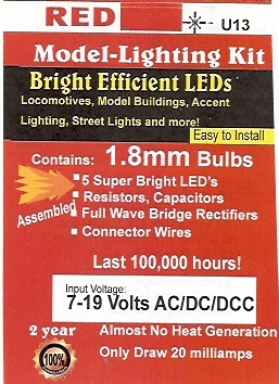 Small Bright Red LED