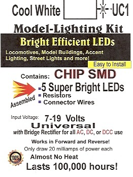 Bright Cool White SMD LED