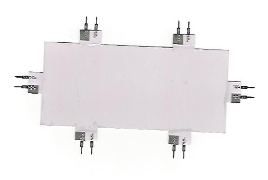 """4301 White 1.7"""" x 3"""" EL Lamp by Miller Signs-0"""