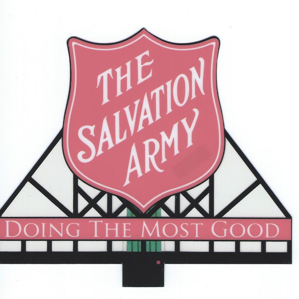 Salvation Army Combo (Med) by Miller Signs-0