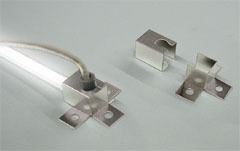 Mounting brackets for Fluorescent tubes