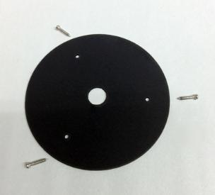Flush mounting plate adapter