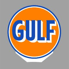 Gulf rotating sign