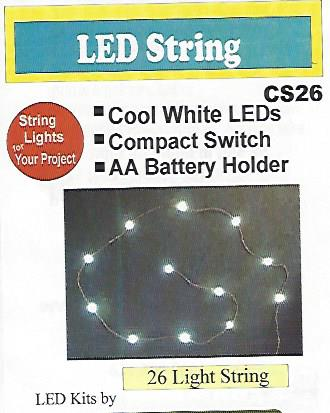 Cs26 string of 26 SMD chips