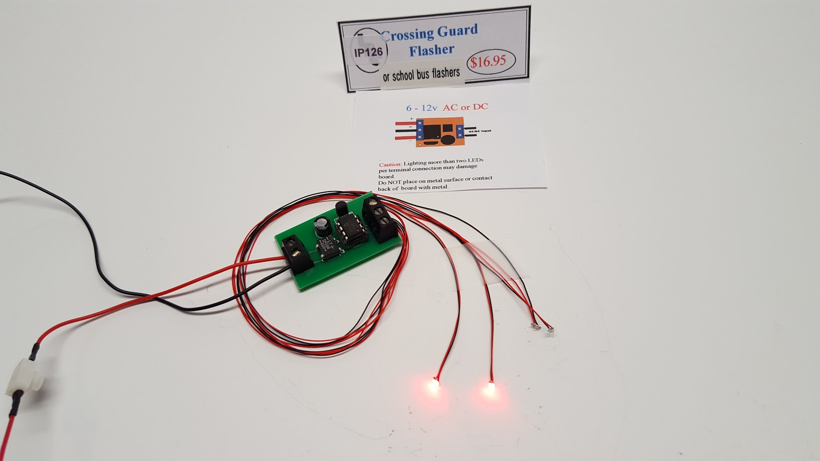 Alternating Flashing Leds Archives Blinking Circuit Red Chips For A School Bus Or Crossing Guards 0