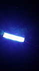 Strip of 6 cool white LED's with adhesive back & pre-wired-0