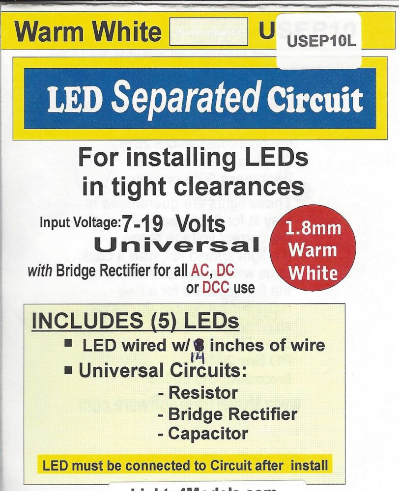 USEP10L Separated 1.8MM warm white Circuit by Evan Designs-0