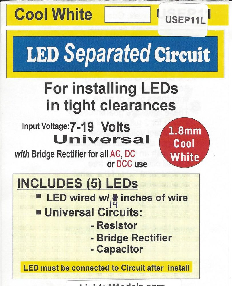 USEP11L Separated 1.8mm cool white Circuit by Evan Designs-0
