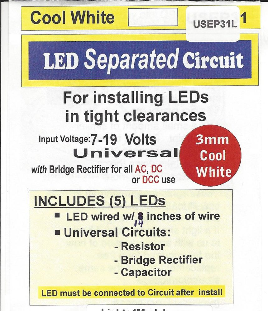 USEP31L Separated 3mm cool white Circuit by Evan Designs-0